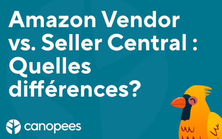 Couverture article blog differences entre Amazon Seller ou Vendor