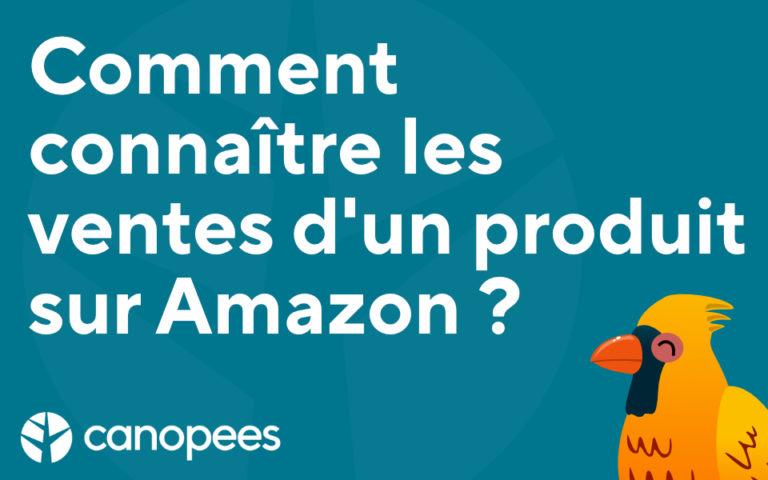 Comment connaître les ventes d'un produit sur Amazon ?